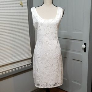 Tiana B. White Daisy Lace Dress